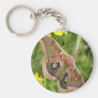 Moth Keychain