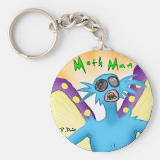 Moth Man Keychain
