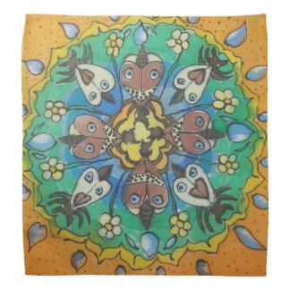 Moth Mandala Bandana