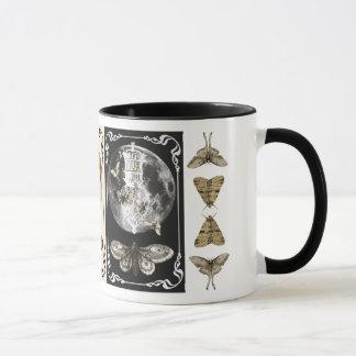 Moth Moon Lantern Coffee Mug