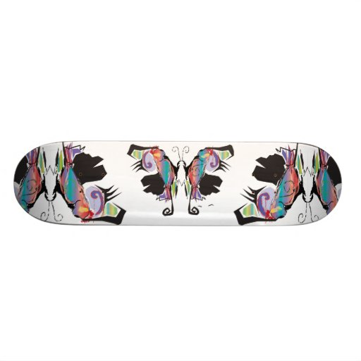 Moth Movement Custom Skateboard