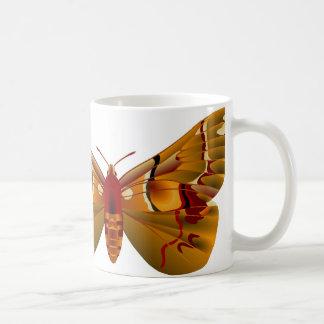 Moth Basic White Mug