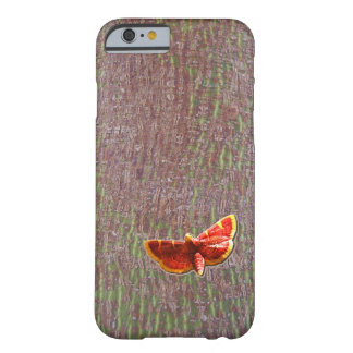 Moth on tree bark barely there iPhone 6 case
