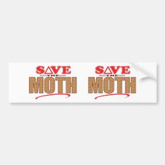 Moth Save Bumper Sticker