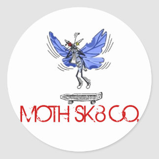MOTH SK8 CO. sticker