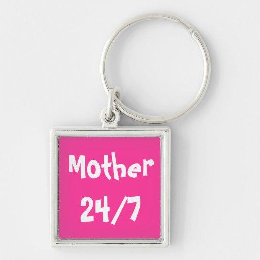 MOTHER 24/7  KEYCHAIN