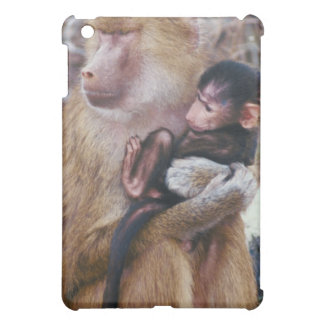 Mother and Baby Baboon iPad Mini Cover