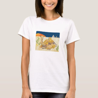 Mother and Baby Camels in Egypt T-Shirt