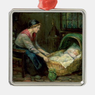 Mother and Baby Christmas Ornament