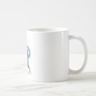 mother and baby dragon coffee mug