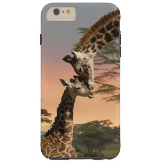 Mother and Baby Giraffe iPhone 6 Plus Tough Case