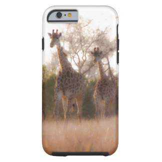 Mother and Baby Giraffe Tough iPhone 6 Case