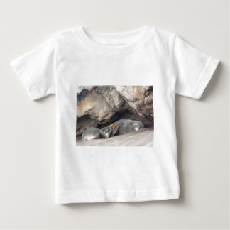Mother and Baby Seal 1 Baby T-Shirt