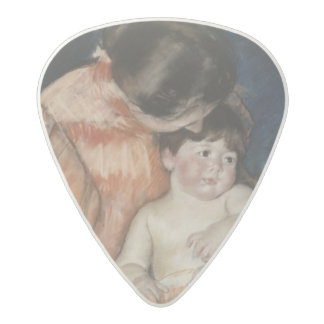 Mother and Child, 1890s Acetal Guitar Pick