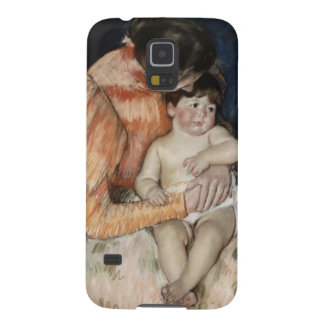 Mother and Child, 1890s Galaxy S5 Cover