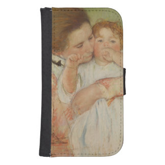 Mother and Child, 1897 Galaxy S4 Wallet Cases