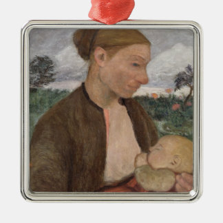 Mother and Child, 1903 Christmas Ornament