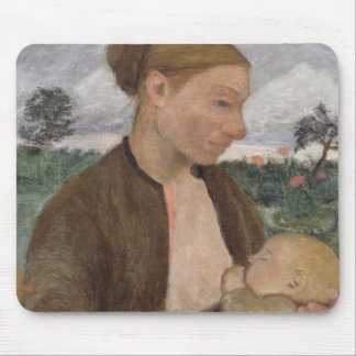 Mother and Child, 1903 Mouse Mat