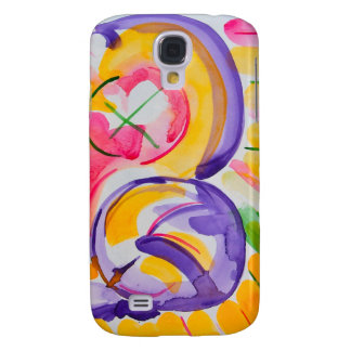 Mother and child abstract iphone case