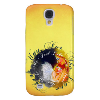 Mother and child artistic design galaxy s4 case