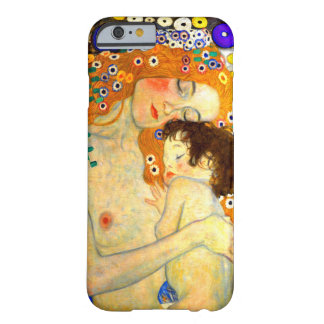 Mother and Child by Gustav Klimt Art Nouveau Barely There iPhone 6 Case