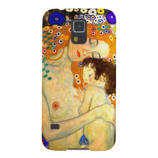 Mother and Child by Gustav Klimt Art Nouveau Galaxy S5 Case