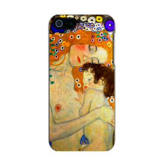 Mother and Child by Gustav Klimt Art Nouveau Incipio Feather® Shine iPhone 5 Case