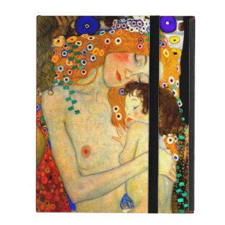 Mother and Child by Gustav Klimt Art Nouveau iPad Case