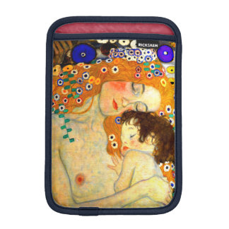 Mother and Child by Gustav Klimt Art Nouveau iPad Mini Sleeve