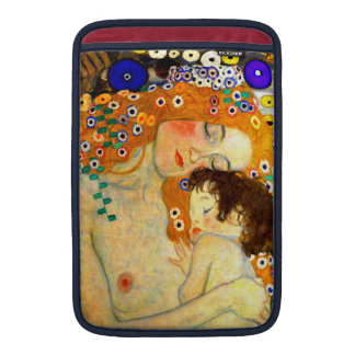 Mother and Child by Gustav Klimt Art Nouveau MacBook Sleeve