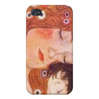 Mother and Child by Klimt iPhone 4/4S Case