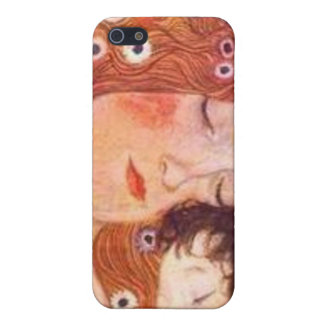Mother and Child by Klimt iPhone 5 Cover