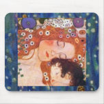 Mother and Child by Klimt Mouse Pads