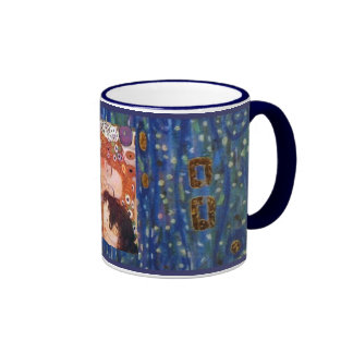 Mother and Child by Klimt Mugs