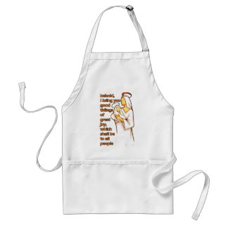 Mother and Child Christmas Design Standard Apron