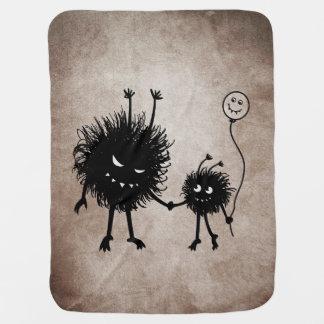 Mother And Child Evil Cartoon Bug Pramblankets