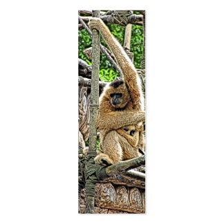 Mother and Child Gibbons Painting Pack Of Skinny Business Cards