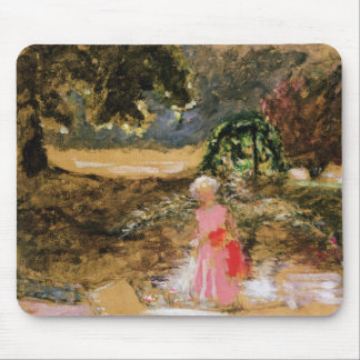 Mother and Child in a Park Mouse Pad