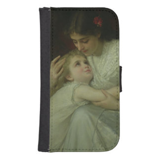 Mother and Child (oil on canvas) Phone Wallet Cases