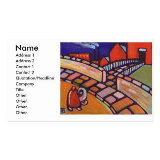 MOTHER AND CHILD PACK OF STANDARD BUSINESS CARDS