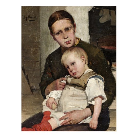Mother and Child Postcard