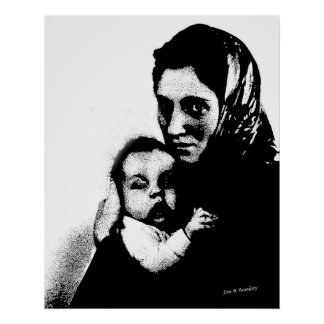 Mother and Child Posters