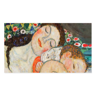 Mother and Child Sleeping Pack Of Standard Business Cards