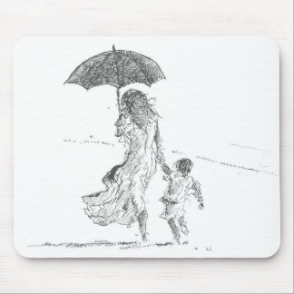 Mother and Child Sri Lanka Mouse Mat