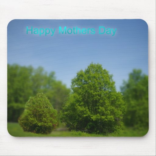 Mother and Child Tree Mousepad