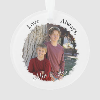 Mother and Child with Custom Text & Photo