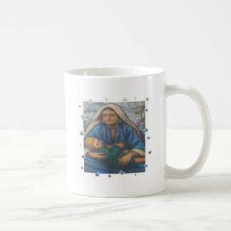 Mother and Child with Star Border Mug