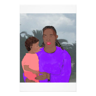 Mother and Daughter 14 Cm X 21.5 Cm Flyer