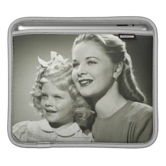 Mother and Daughter iPad Sleeve