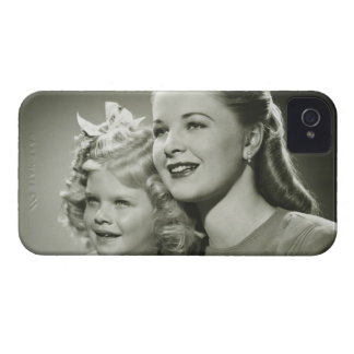 Mother and Daughter iPhone 4 Cover